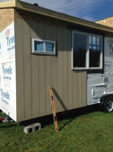 Siding little lou tiny house for Lp smartside shakes coverage